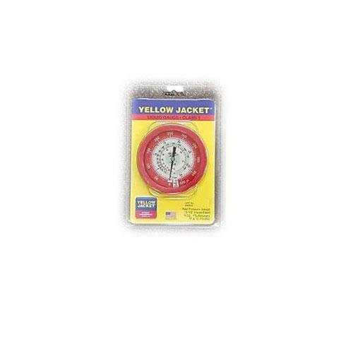Gauge, 3 1/8In Dia, High Side, Red, 800 psi (R410a Guages compare prices)