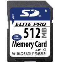 512MB SD Secure Digital Card (BQN) [Electronics]