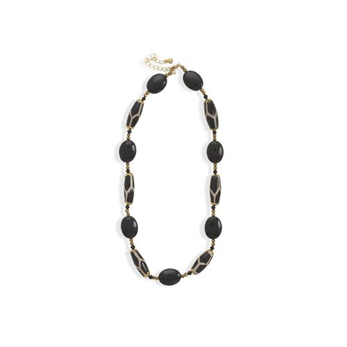 CleverSilver's Gold Plated Animal Print Fashion Necklace