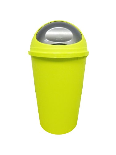NEW COLOUR LIME GREEN 25L BULLET BIN / DUSTBIN / RUBBISH BIN / KITCHEN / HOME / PLASTIC.