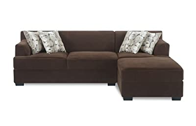 Buy Bobkona Benford 2 Piece Sectional Sofa Collection