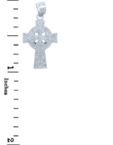 Sterling Silver Celtic Cross Small Pendant