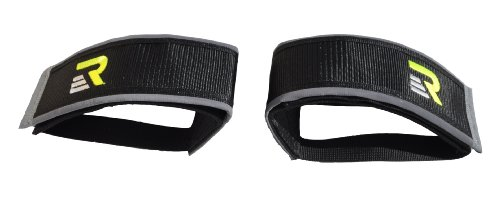 Read About Retrospec Fixed-Gear Track BMX-Style Foot Retention FGFS Velcro Straps with Reflective Fa...