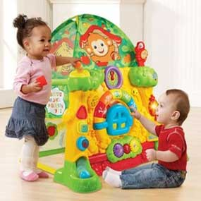 Amazon.com: VTech Grow and Discover Tree House Toy Tent