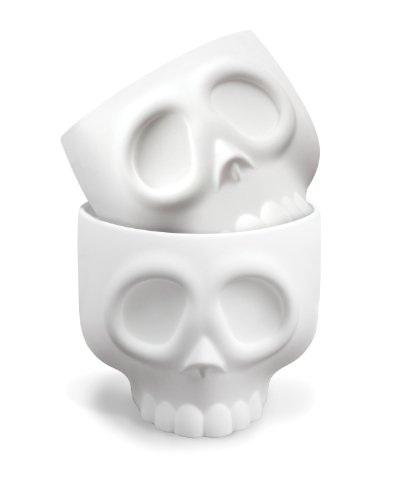 Fred & Friends NOMSKULLS Baking Cups, Set of 4