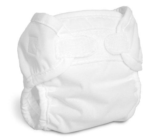 Bummis Super Brite Diaper Cover, White, 4-9 Pounds