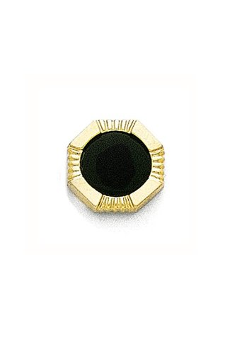 14K Yellow Gold and Black Onyx Tie Tac-89488