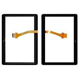 Black Touch Screen Panel Digitizer Glass (Note 0.3T Flex, Rev 0.7) For Samsung Galaxy Tab 2 10.1 T779 i497 Replacement Part