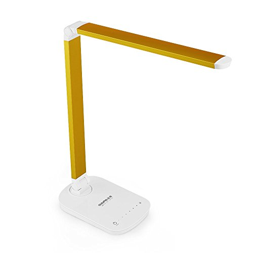 Guanya F118 7W Dimmable Led Desk Lamp - Gold Antique Desk Accessories
