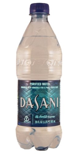 Dasani Purified Water 24/20oz (Dasani Water 20 Oz compare prices)