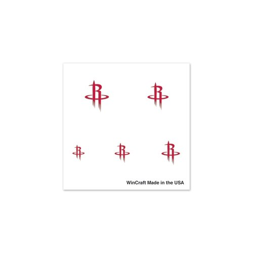 "Houston Rockets Official NBA 1"" Fingernail Tattoo Set by Wincraft"
