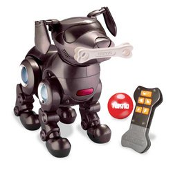 Tekno the Robotic Puppy - Black