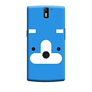 Qbic Designer 3D Printed Hard Mobile Back Case Cover for OnePlus One