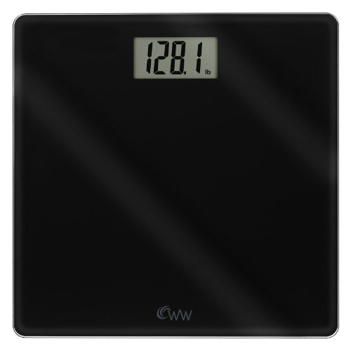 Cheap Conair WW58B Inspirational Glass Digital Scale, Black (WW58B)