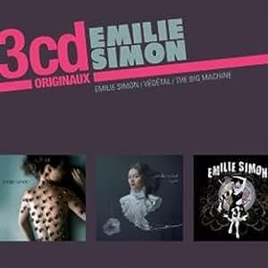Emilie Simon / Végétal / The Big Machine (Coffret 3 CD)