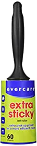 Evercare Extra Sticky Lint Pic-Up Roller - 60 sheet