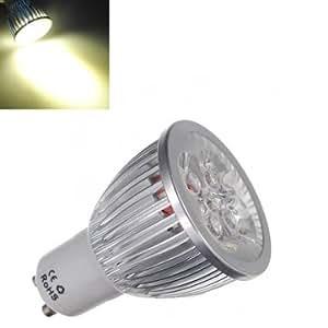 gu10 5w 430lm warm white led spot light bulb ac electronics. Black Bedroom Furniture Sets. Home Design Ideas