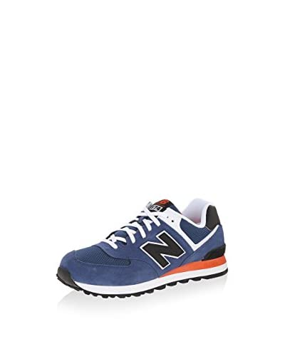 New Balance Sneaker Ml574Gs [Blu]
