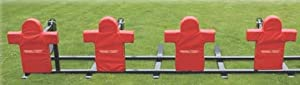 Buy Triple Threat 4 Man Football Sled by Stackhouse