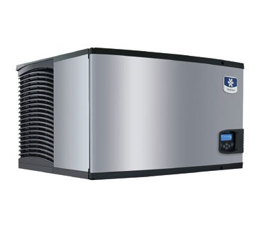 Manitowoc Id-0302A_B-170 310 Lb Air-Cooled Full Cube Ice Machine W/ Storage Bin back-546118