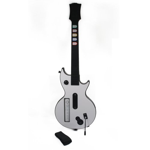 Wireless Guitar Hero Controller For Nintendo Wii White