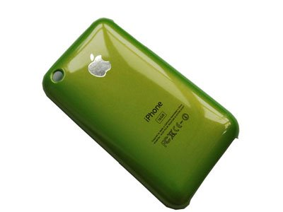 Hard Cover Case for iPhone 3G, 3G S Green