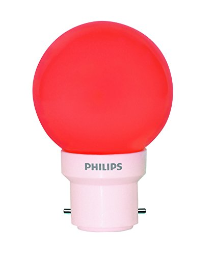 Decomini-0.5W-B22-LED-Bulb-(Red)