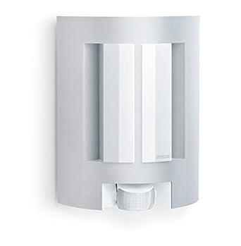 Steinel 657710 L 11 Außen-Sensorleuchte, Bewegungsmelder mit Sensortechnik, energieeffizient, 60W, IP44, aluminium