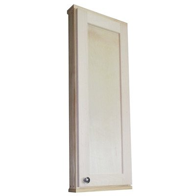 "Shaker Series 15"" x 37.5"" Surface Mount Medicine Cabinet"