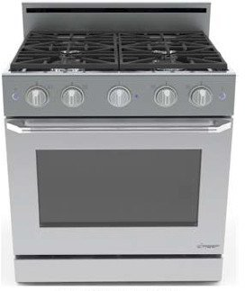 Dacor 30 In. Stainless Steel Freestanding Gas Range - Dr30Gsng