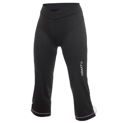 Craft Wmn Act.Loose Bike Capri Sm, Black