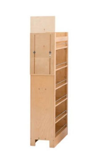 Rev A Shelf Rs448.Tp51.14.1 14 In. W X 50-.75 In. H Pull-Out Pantry Organizers With Shelves