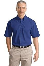 Port Authority Short Sleeve Value Poplin Shirt. S633 [Apparel]