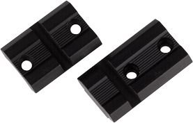 Weaver Top Mount Matte Black Base Pair - Remington