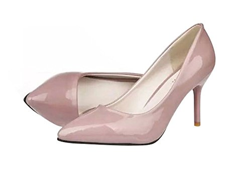 fq-real-new-shallow-mouth-pointed-heels-fine-singles-shoes-pink-size-5-uk