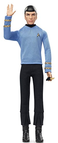 Barbie-Collector-Star-Trek-50-aniversario-Mr-Spock-Mattel-DGW68