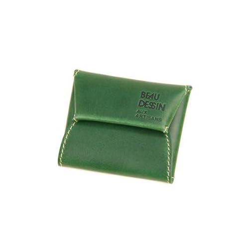 [ボーデッサン] BEAU DESSIN S.A. コインケース 小銭入れ VT1901 BUTTERO ブッテーロシリーズ グリーン BD-VT1901-GR