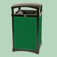 Rubbermaid-Square Rigid Liner For Infinity 50Gl Black (Rcp9W64Bla) Category: Rigid Trash Can Liners front-515247