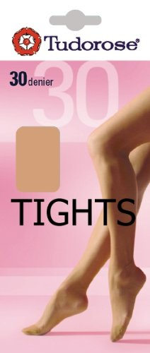 Tudorose 30 Denier Tights, One Size (36