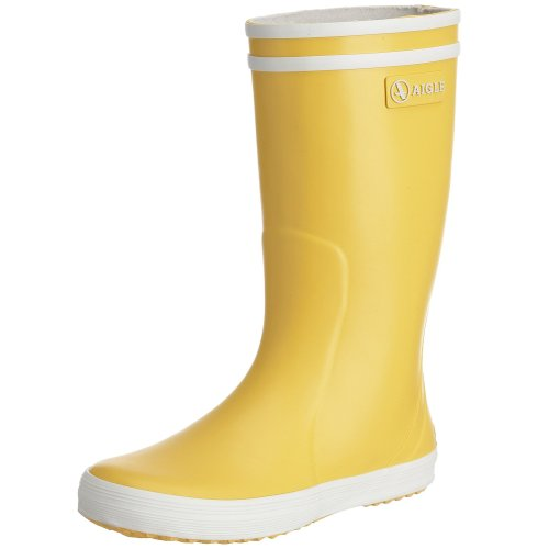 Aigle Junior Lolly Pop Wellies in Red, Yellow and Blue