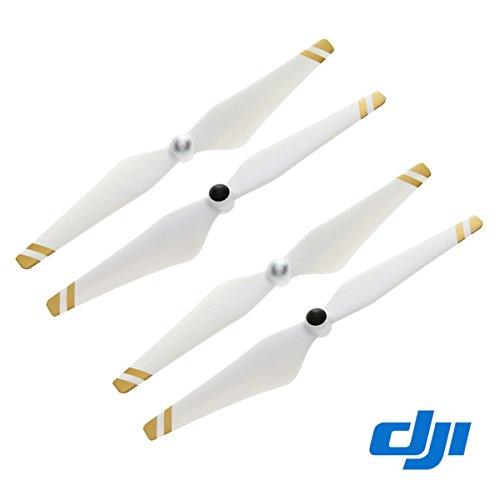 2 Pairs Genuine DJI Phantom 3 E305 9450 Props Self-tightening Propellers (Composite Hub, White