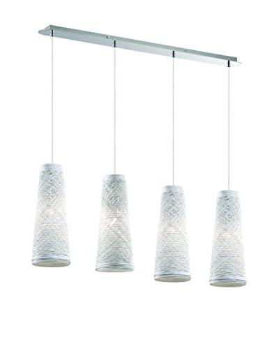 EVERGREEN LIGHTS Lámpara De Suspensión Basket SB4 Blanco
