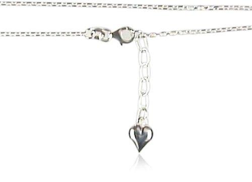 Salé unisex Anklet Silver Heart 301200028XX