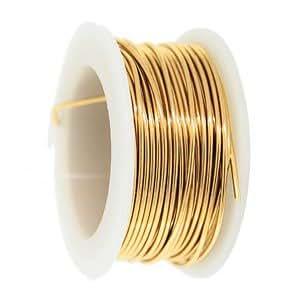 20 gauge round tarnish resistant brass