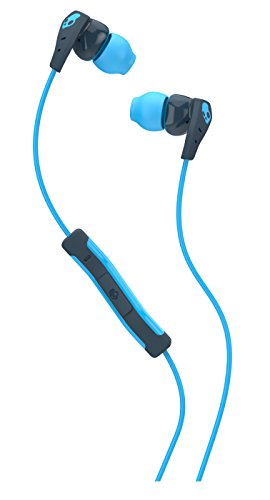 Skullcandy Method In-Ear Sweat Resistant Sports Earbud, Navy/Blue