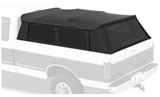 Bestop® 76315-35 Black Diamond Supertop® For Truck Bed Cover (8.0' Bed) For 99-11 Chevy Silverado; 99-06 Gmc Sierra; 87-96 Ford F-150; 87-98 Ford F-250/350; front-73468