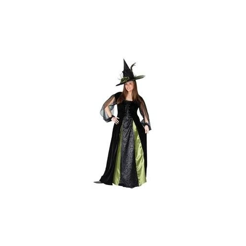 Witch Hat Feathers and Netting Adult Womens Smiffys Fancy Dress Costume Hat
