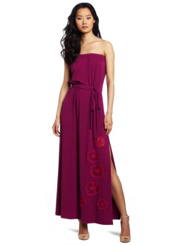 Robbi & Nikki Women's Floral Embroidery Maxi Dress