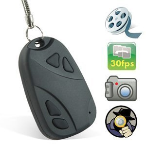 SPY CAMERA CAR KEYchain FOB MINI CAMCORDER DVR 808 UP TO 8GB & Chargin USB Cable - Record Every Moment by KING OF FLASH