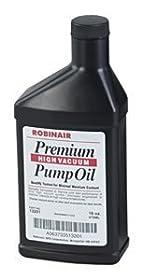 Robinair 13204 One Gallon Premium Vacuum Pump Oil, Thermal stability resists break-down due to heat